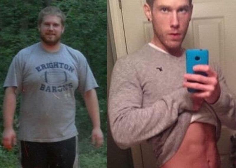 face fat example man