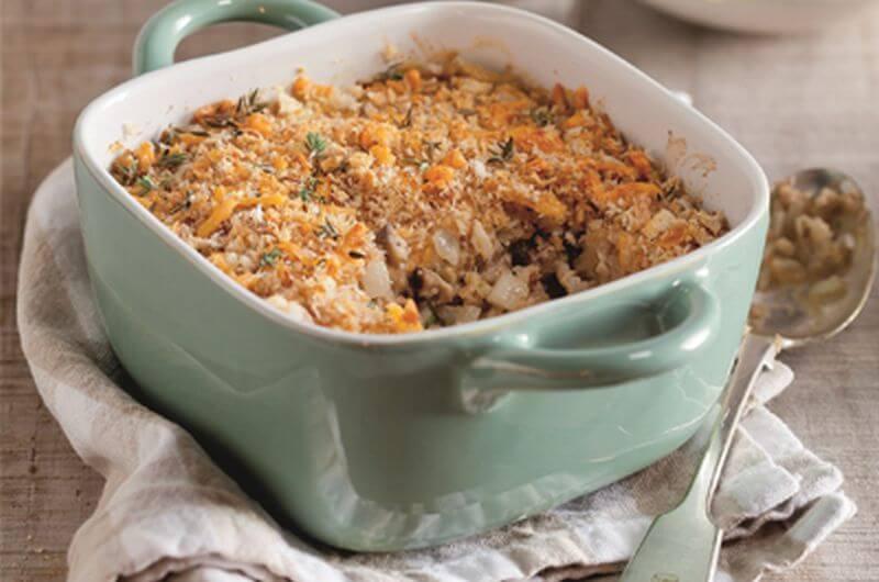 tuna and mushroom casserole