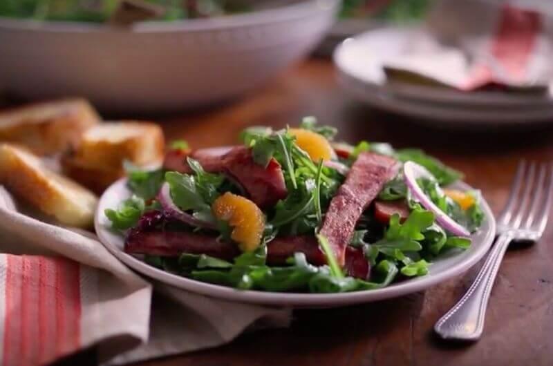 black forest ham salad