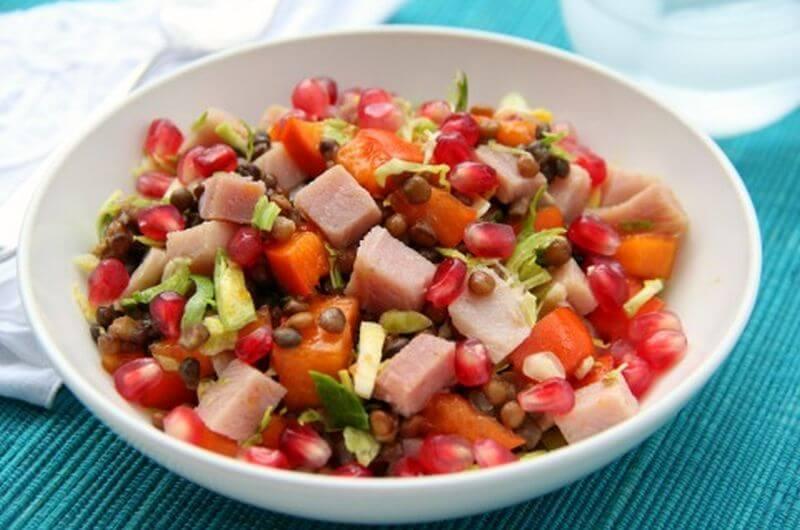ham chopped salad recipe