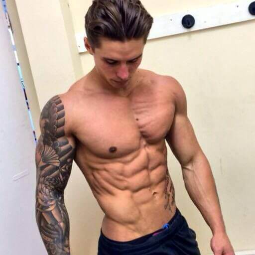 six pack abs guy