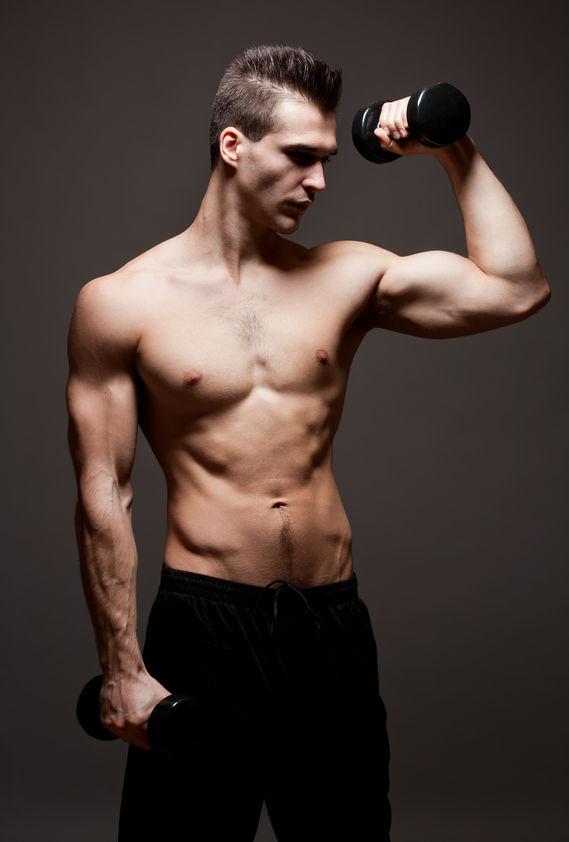 skinny ab guy