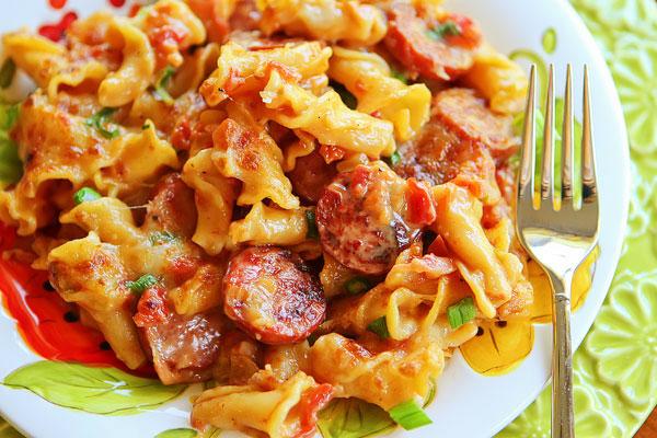 spicy-sausage-pasta