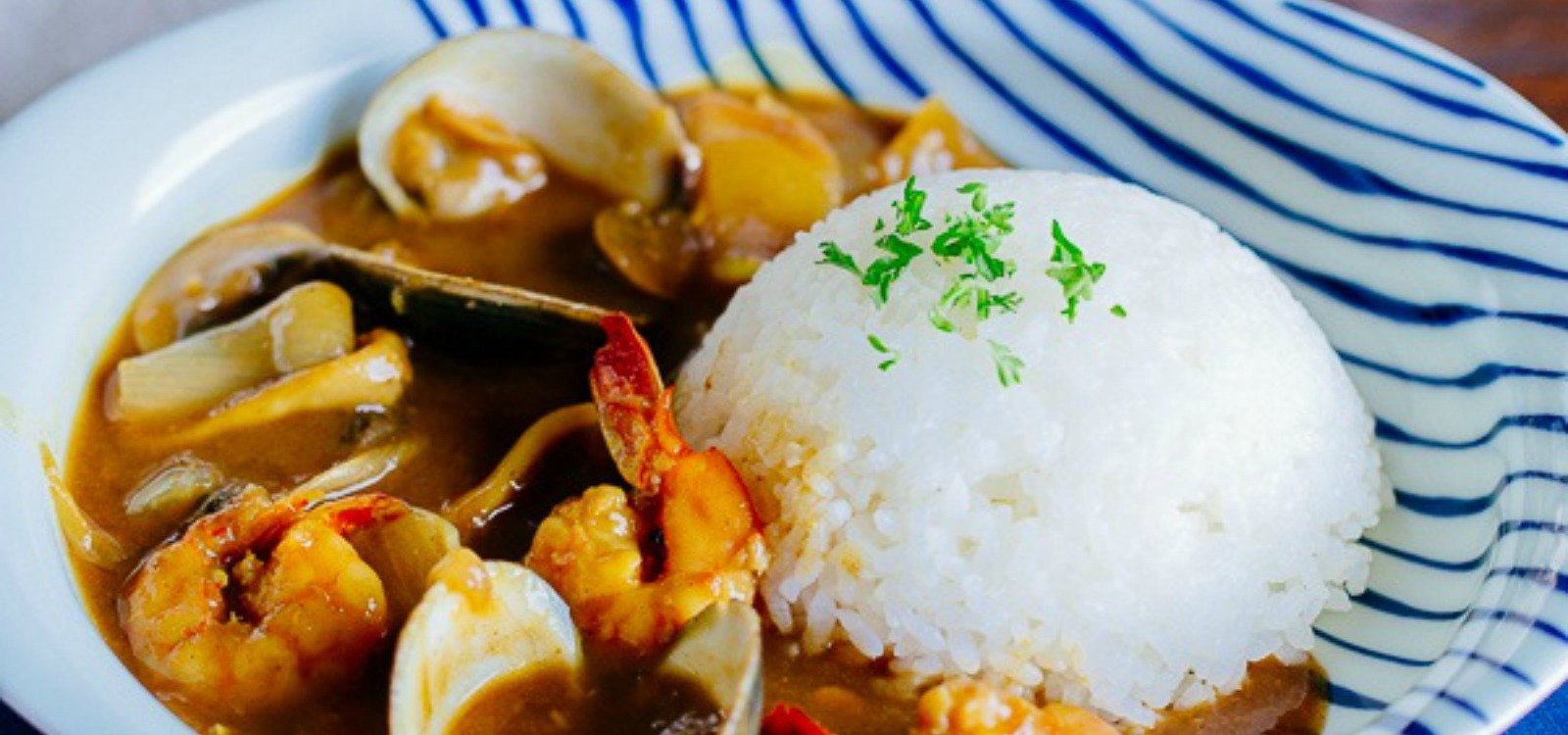 pressure cooker japanese seafood curry