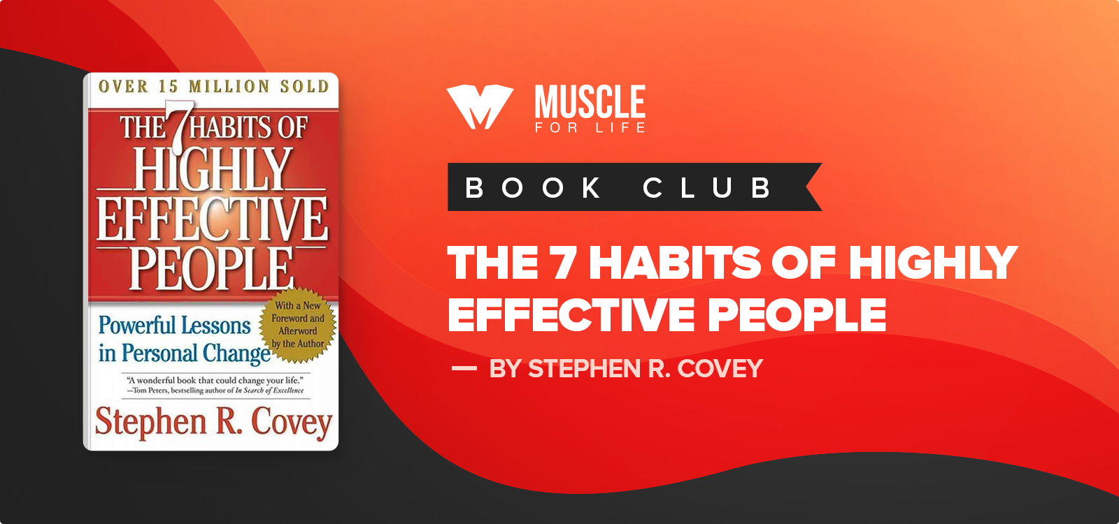MFL Book Club: The 7 Habits of Highly Effective People by Stephen Covey