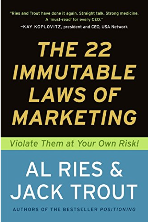 the 22 immutable laws of marketing book review