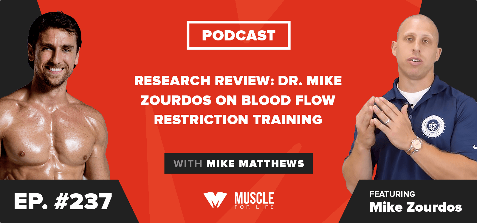 Research Review: Dr. Mike Zourdos on Blood Flow Restriction Training