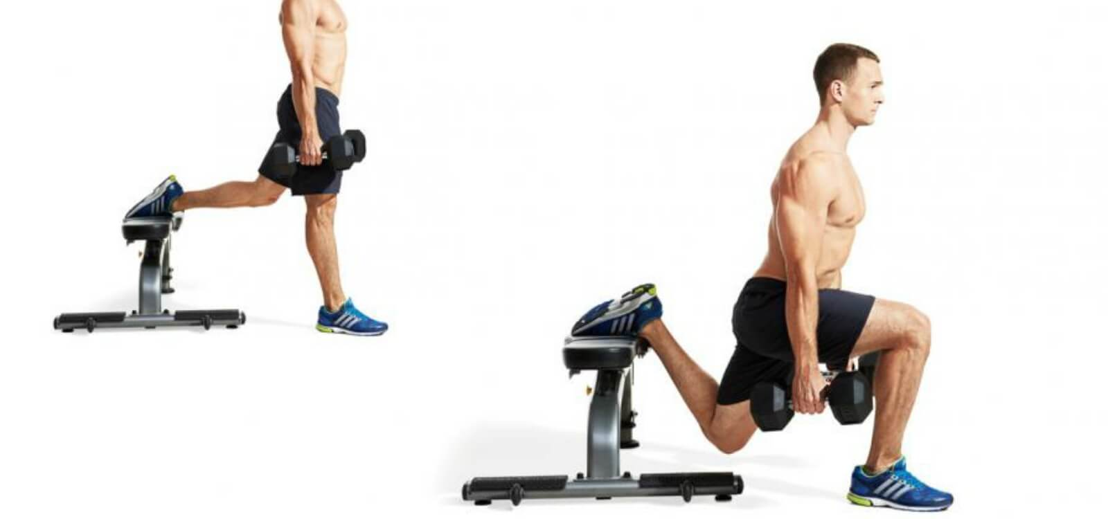 bulgarian split squat stance