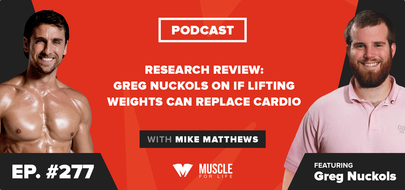 Research Review: Greg Nuckols on if Lifting Weights Can Replace Cardio