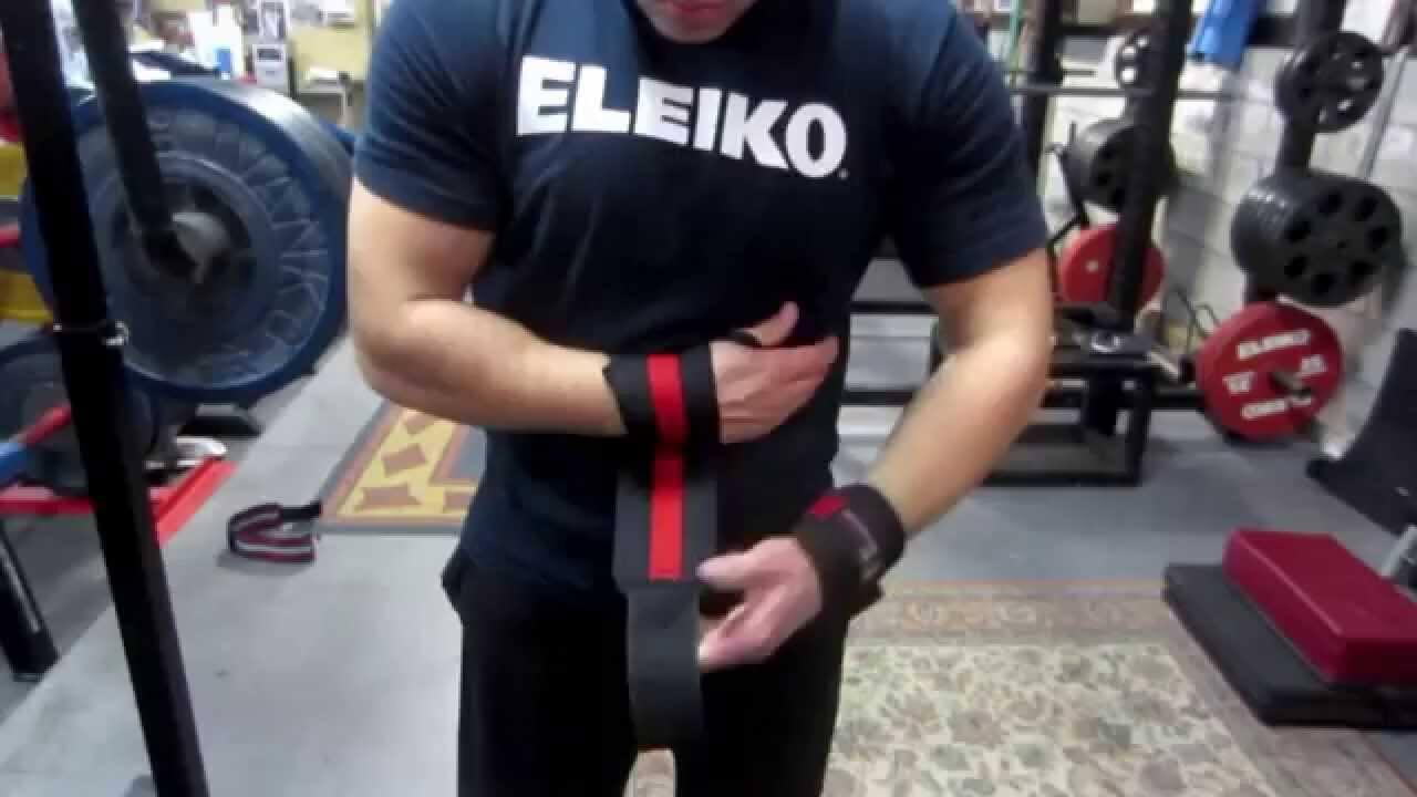 bench press wrist wraps
