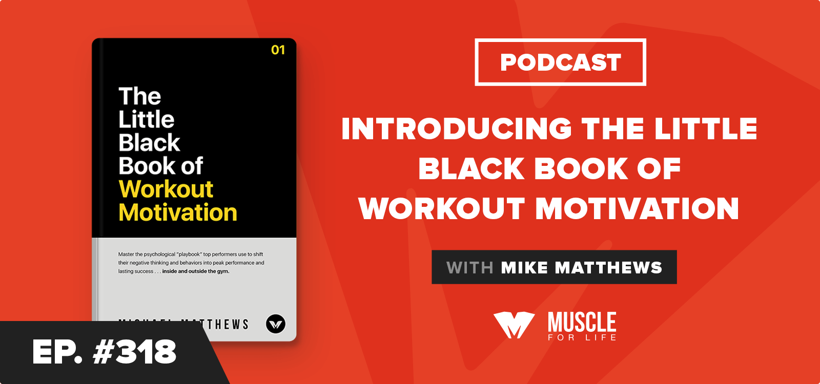 Introducing The Little Black Book of Workout Motivation