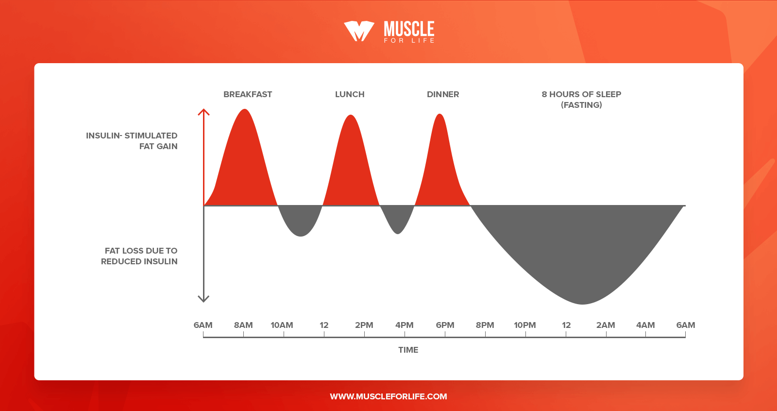 fasted cardio graph