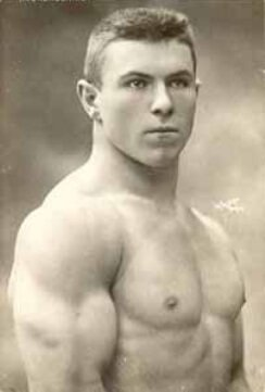 george hackenschmidt bench press