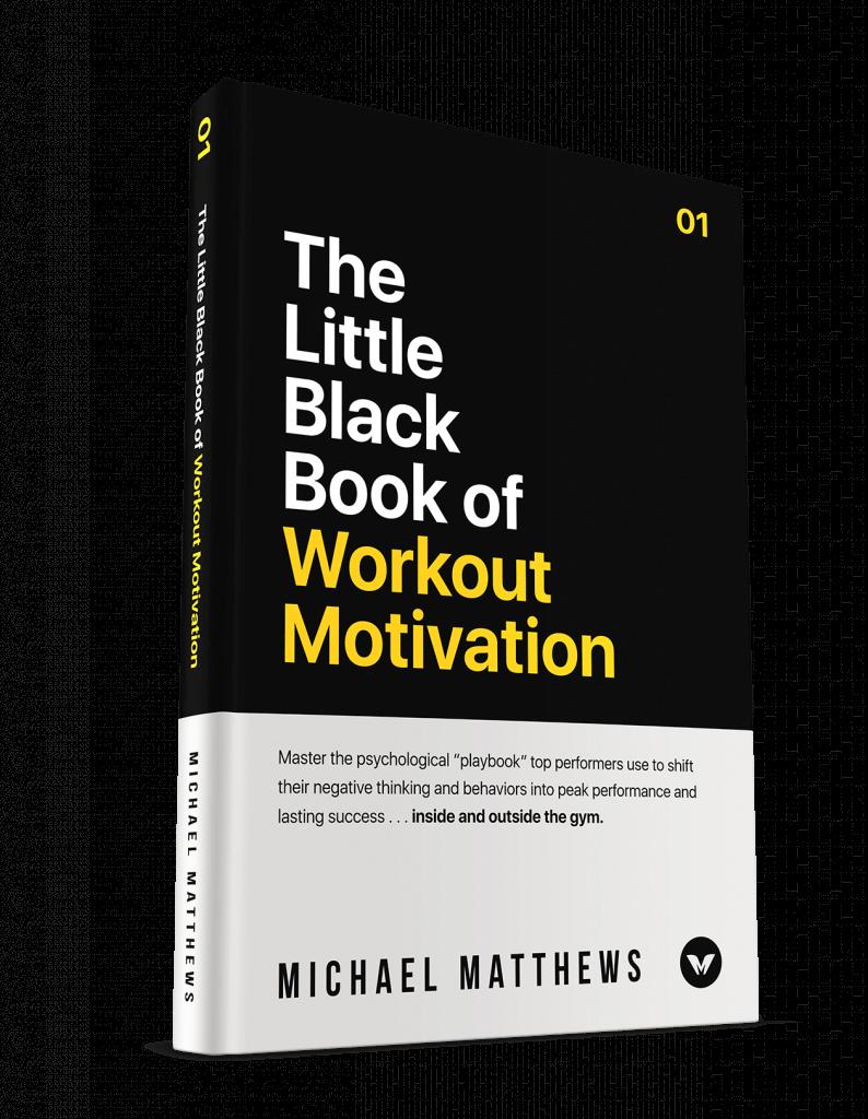 little black book of workout motivation cover