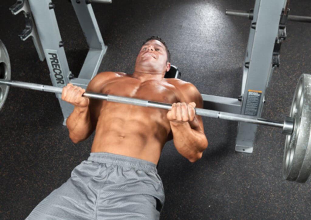 reverse grip bench