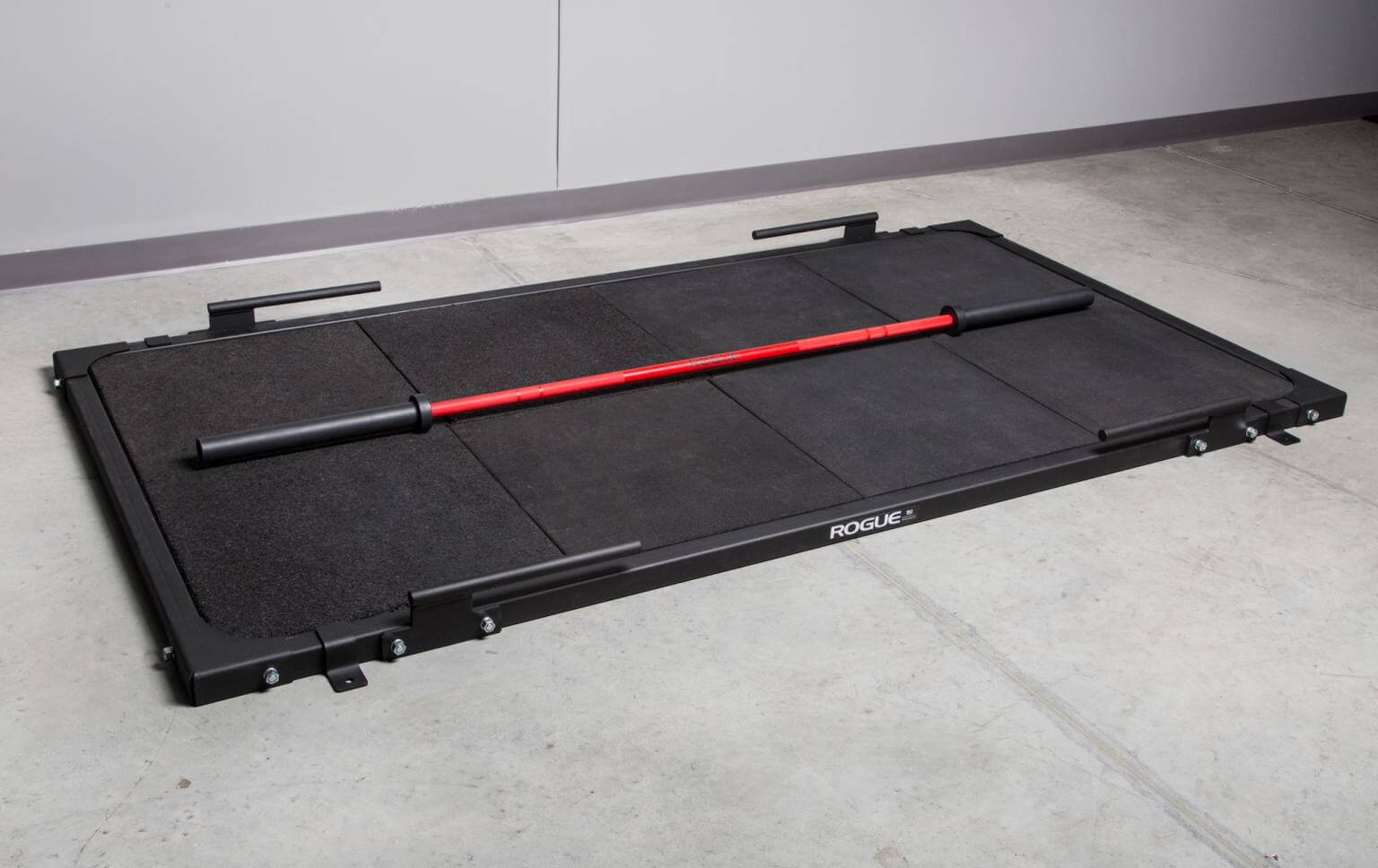 home gym deadlift platform