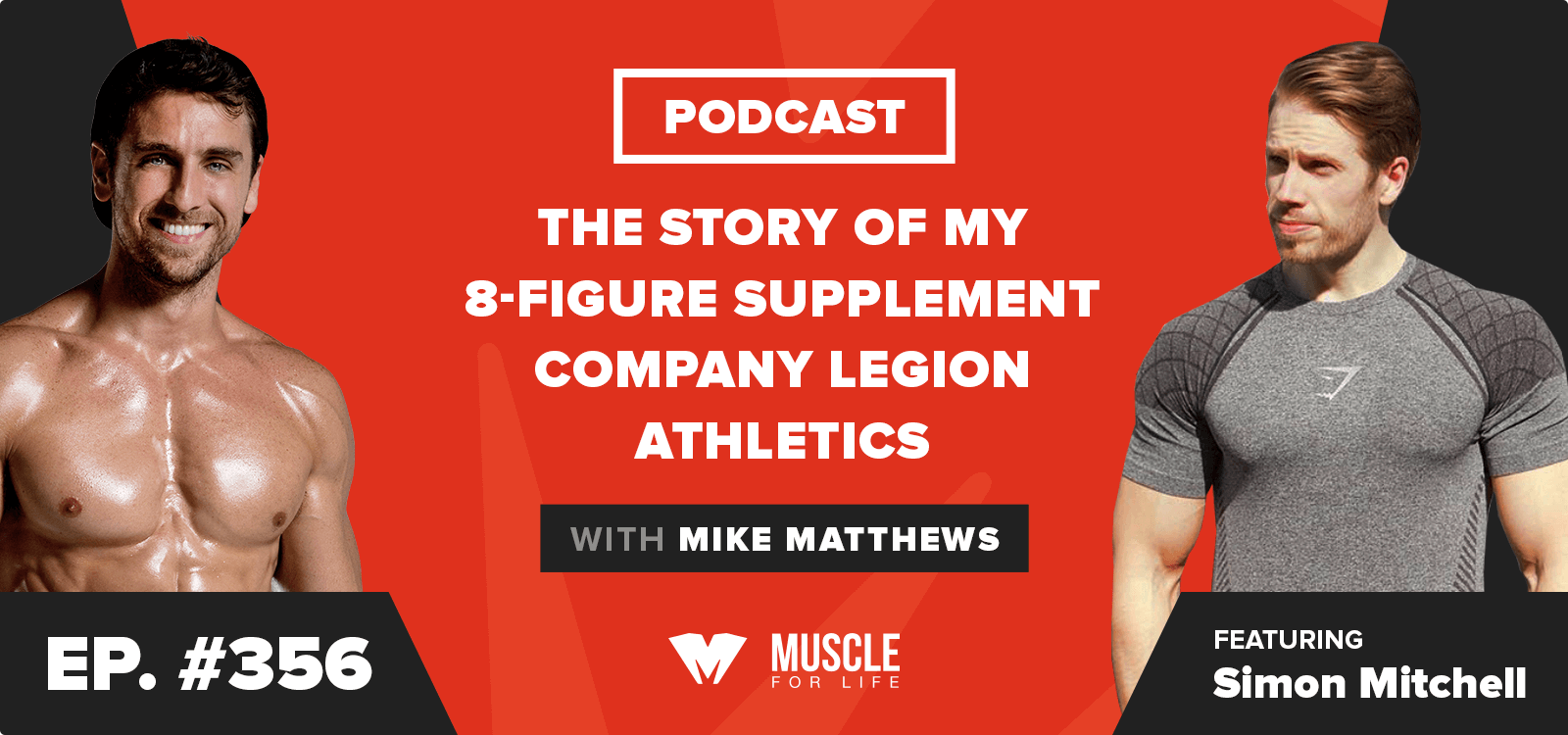 The Story of My 8-Figure Supplement Company Legion Athletics