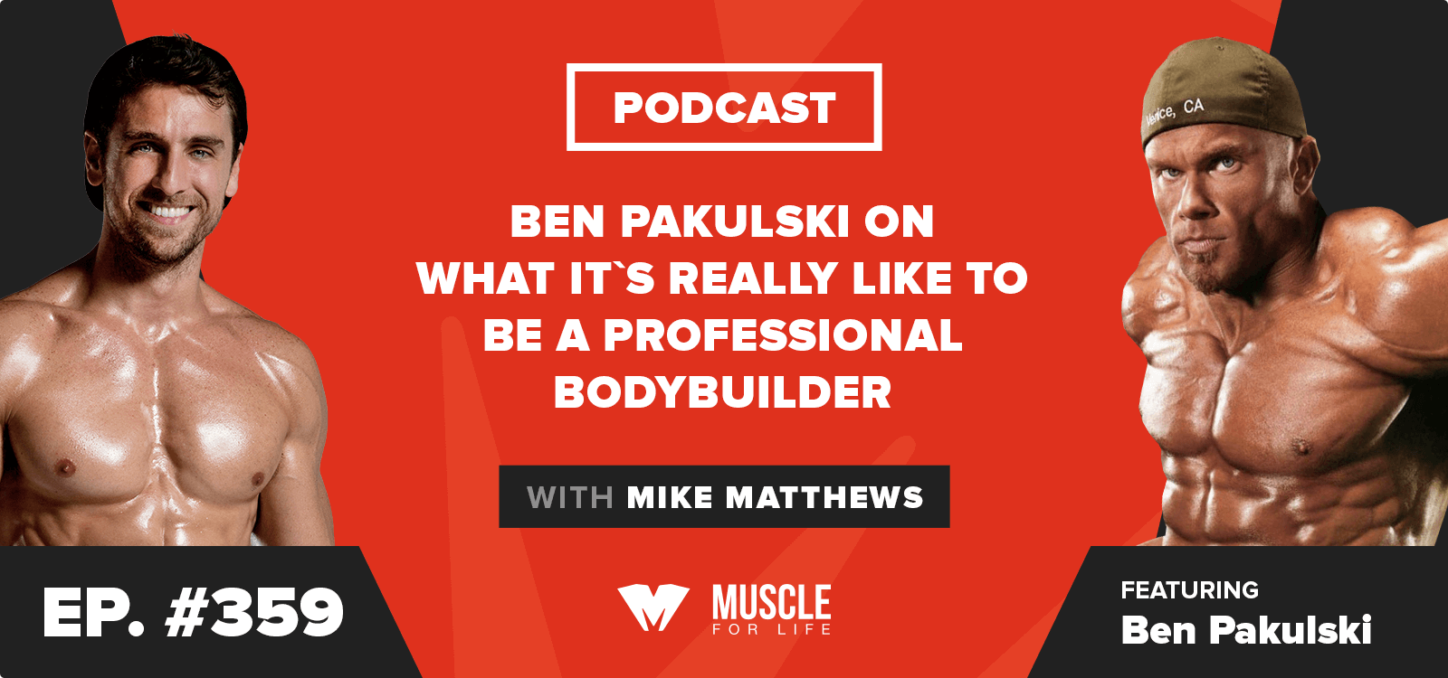 Ben Pakulski on What It's Really Like to Be a Professional Bodybuilder