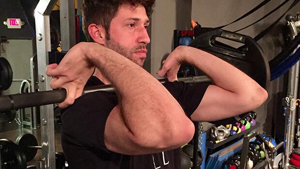 front squat grip options