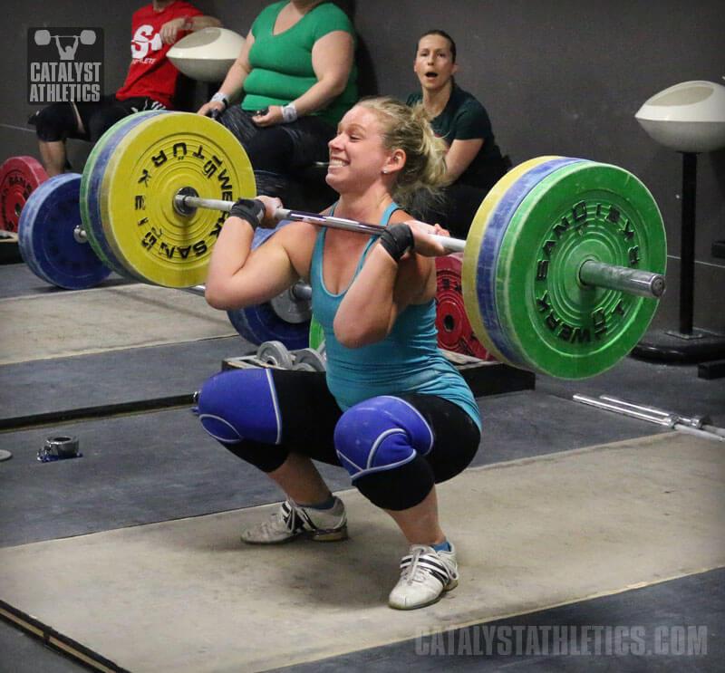 front squat grip