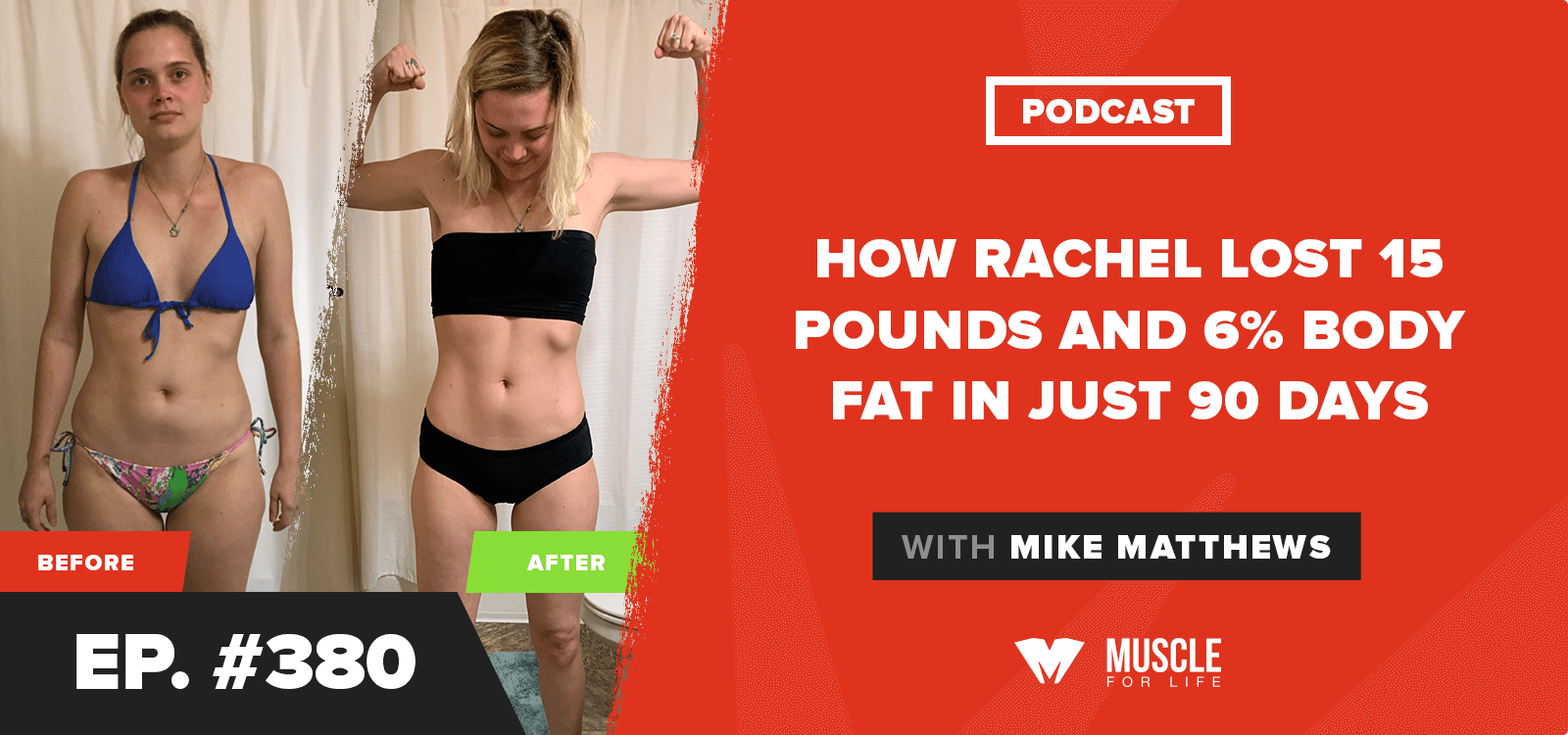 How Rachel Lost 15 Pounds and 6% Body Fat in Just 90 Days