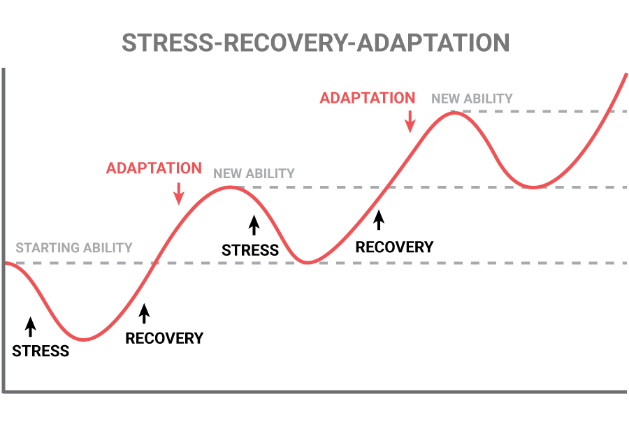 stress recovery adaption