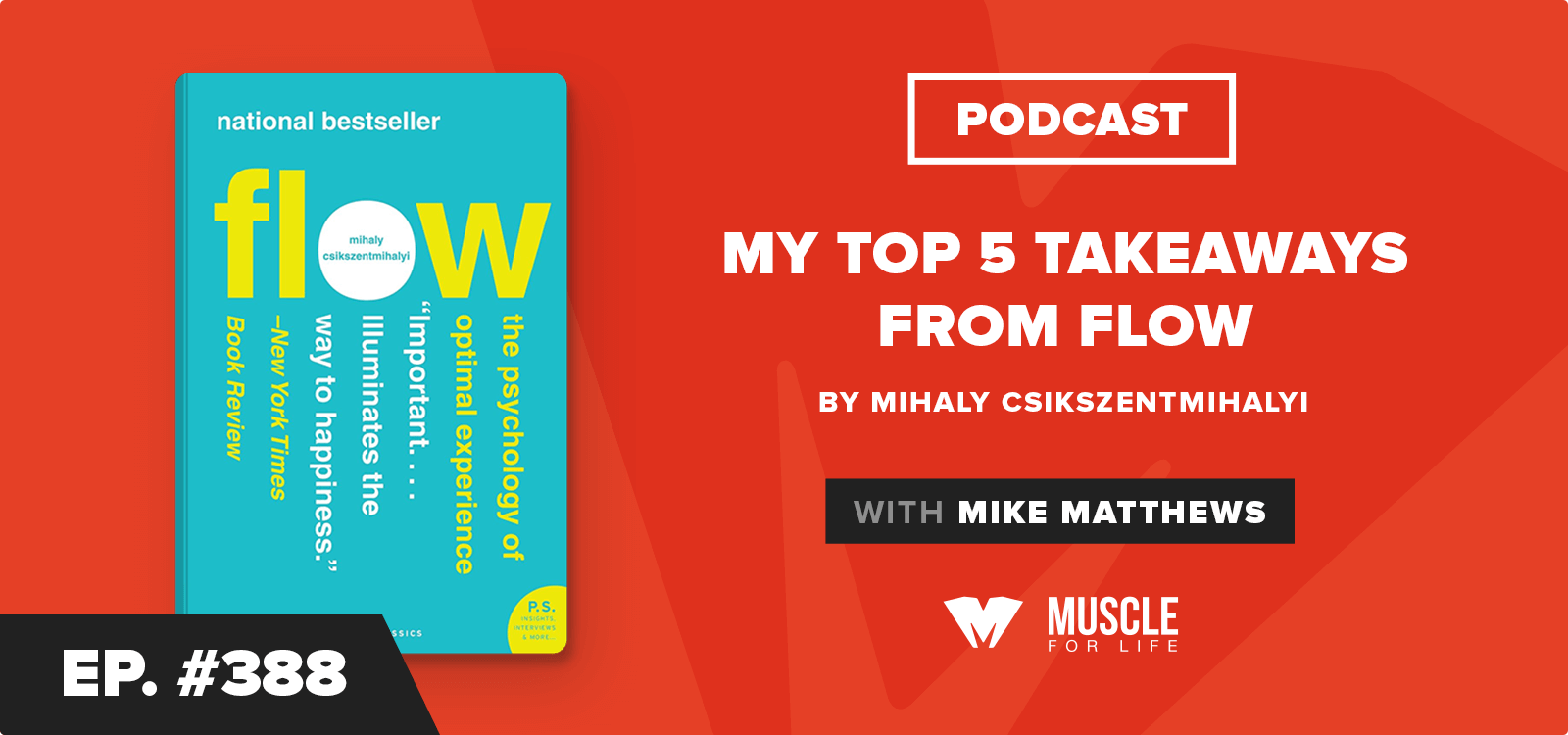 Book Club Podcast: My Top 5 Takeaways from Flow by Mihaly Csikszentmihalyi