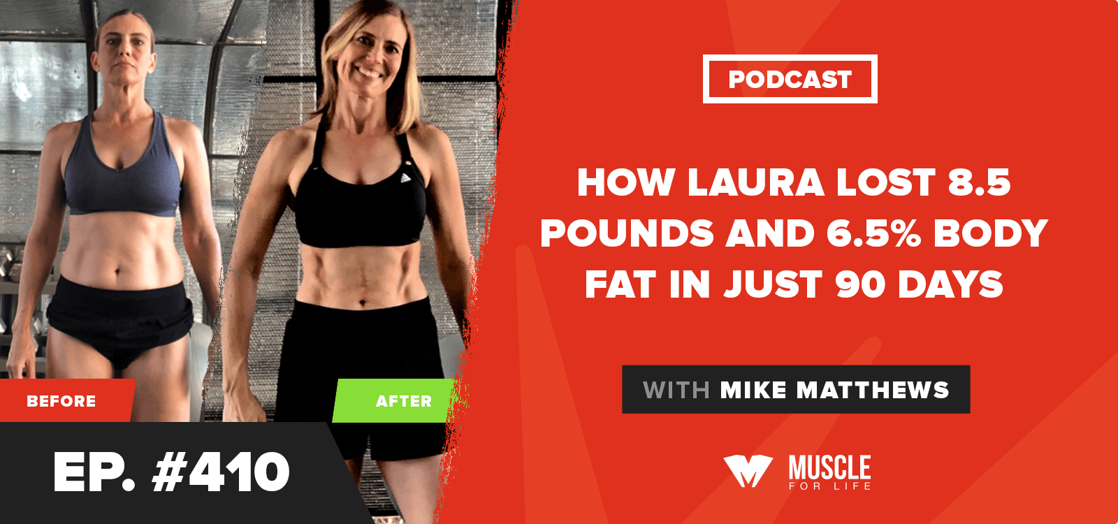 How Laura Lost 8.5 Pounds and 6.5% Body Fat in Just 90 Days