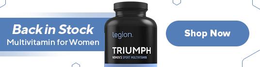 May 2021 Triumph Multivitamin for Women Back in Stock