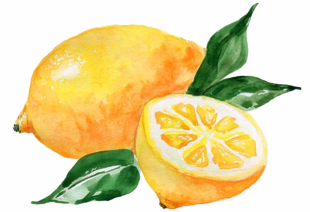 Vitamin E and Lemon Oil