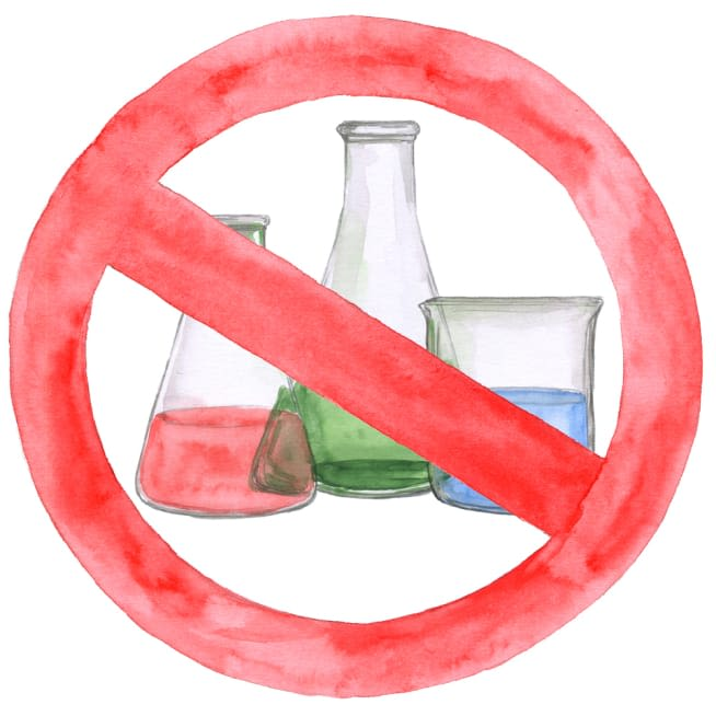 No Artificial Food Dyes or Other Chemical Junk