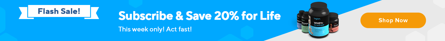 2021 Subscription 20% Off For Life Sale