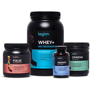 Picture of Pulse, Whey+, Fortify, and Genesis