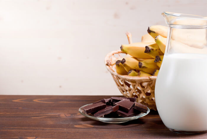chocolate dipped banana