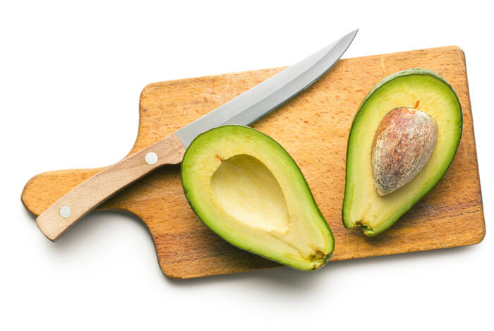 avocados chopping board