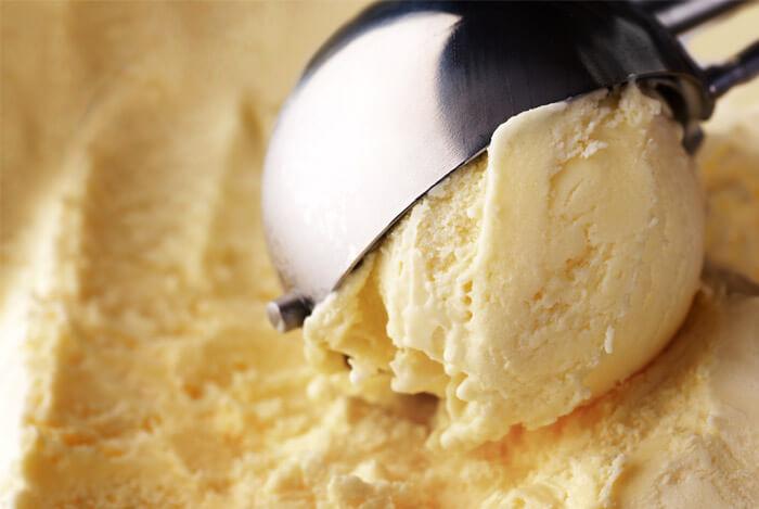 homemade banana ice cream