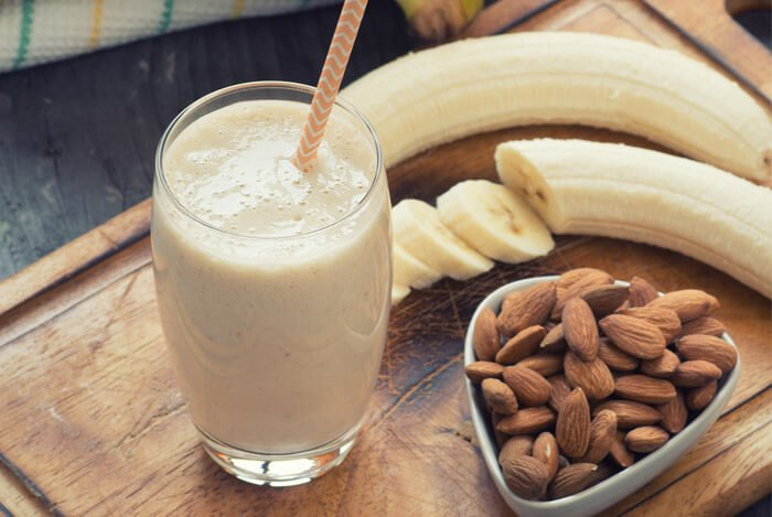 less easy banana smoothie