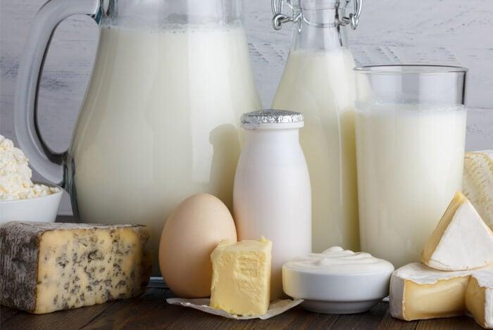 milk eggs cheese