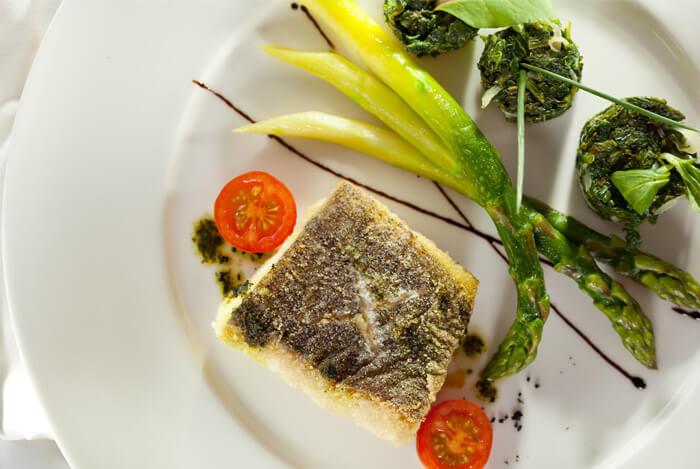 halibut plate dinner