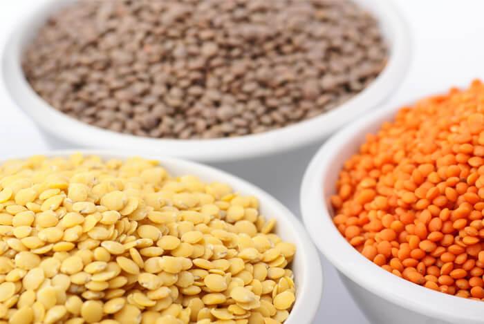 mixed lentils