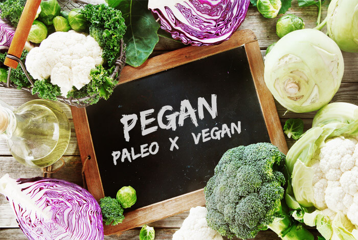 pegan paleo vegan diet foods