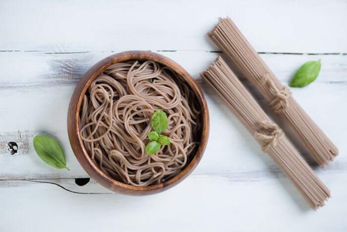 soba noodles bowl