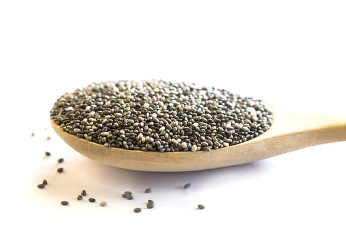 spoon full of chia