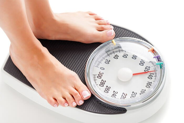 woman weight scales