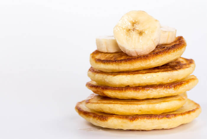 banana low carb pancakes