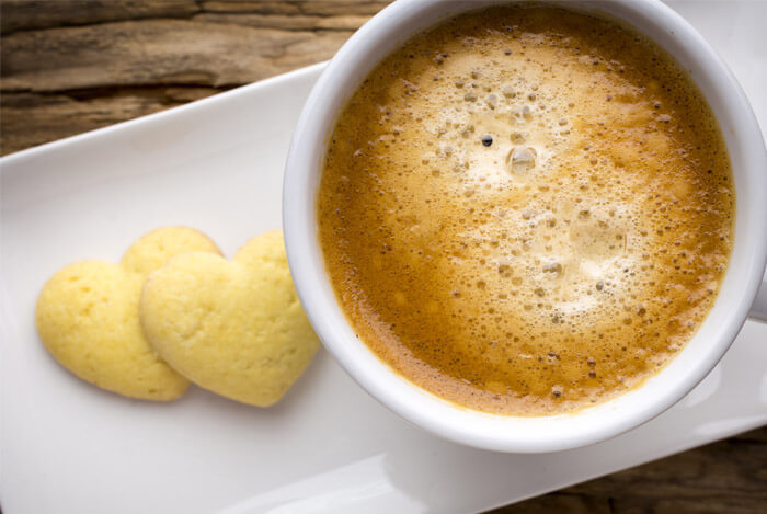 coffee heart cookies lower cancer