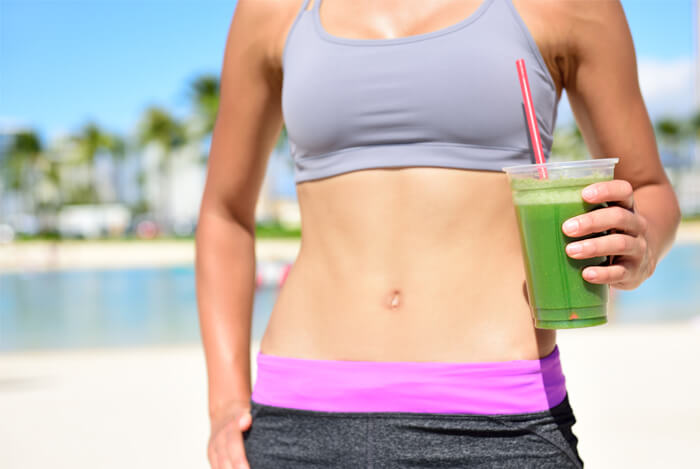 detox drink woman skinny