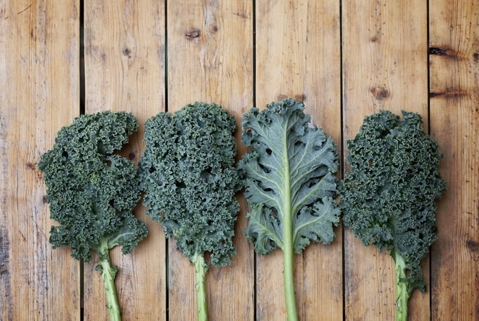 different types kale