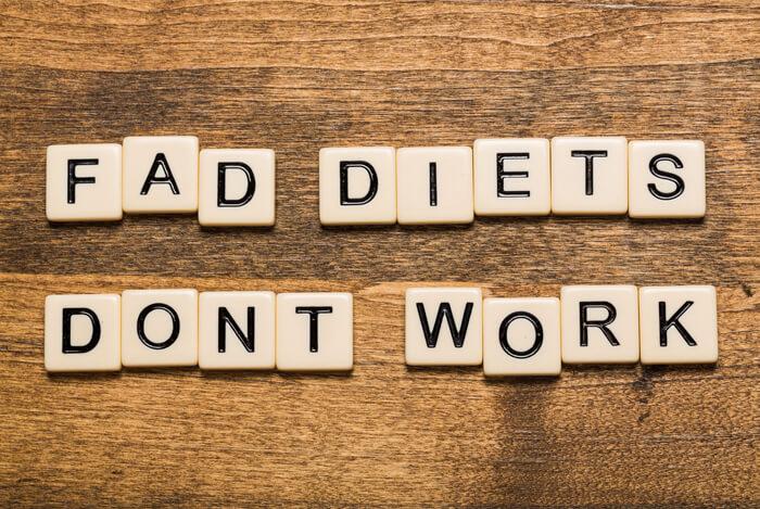 fad diets words spelt