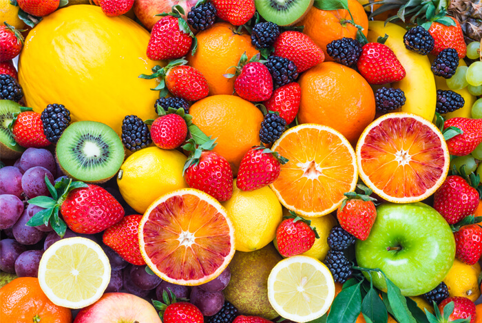 fruits of all colour